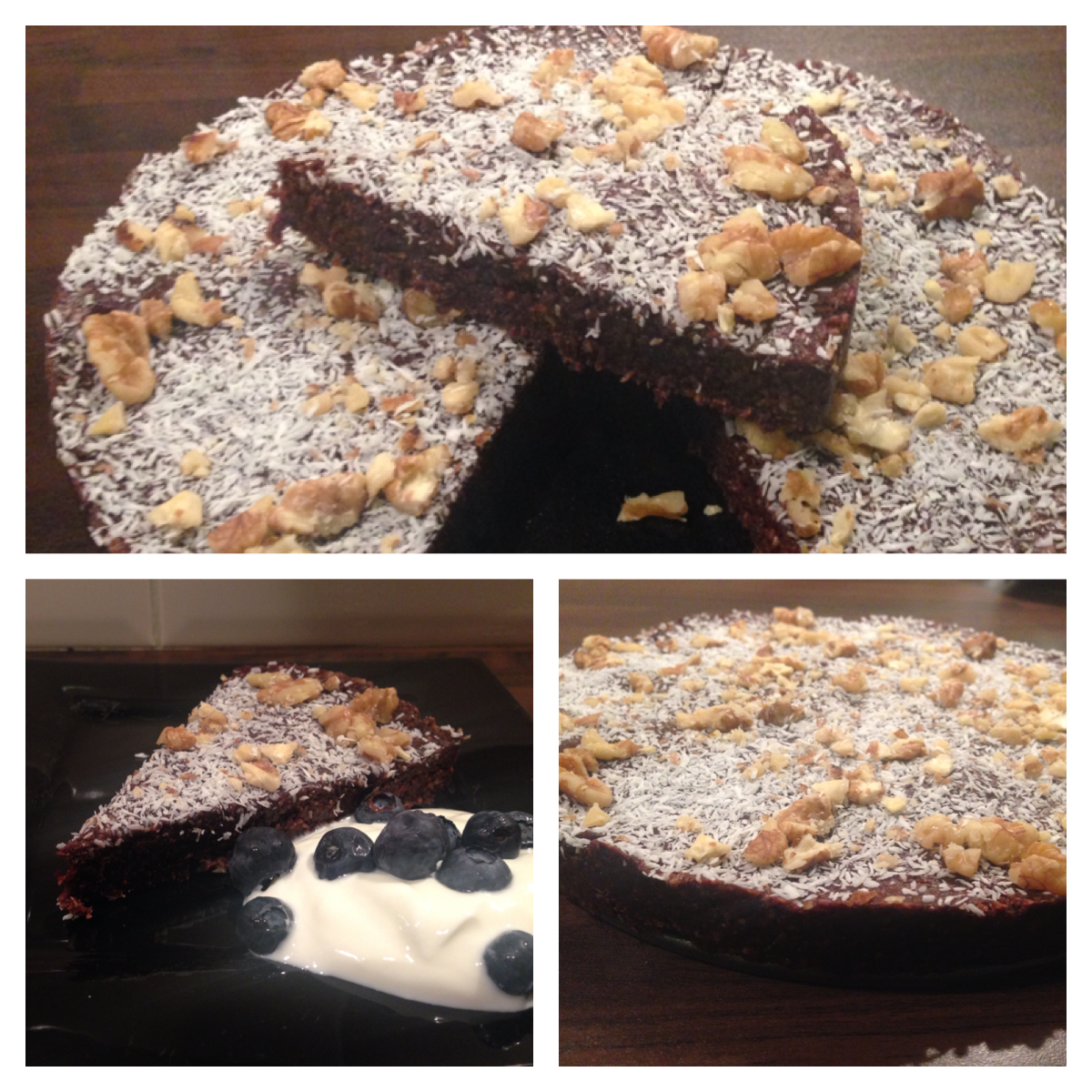 Raw cacao brownies recipe