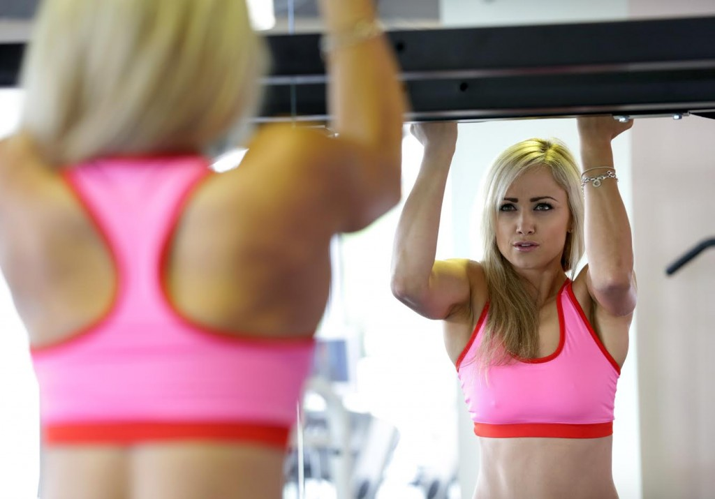 Personal trainer Leanne Moore in Go Gym, Greystones.