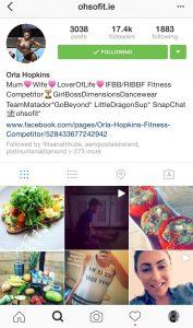 Orla's Instagram Feed