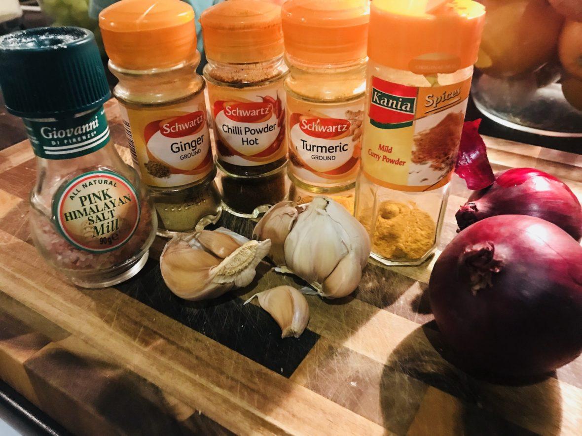 Clean Prawn Curry
