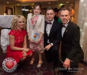 Leanne Moore, Siobhan Mungovan, George McMahon and Richard Lynch