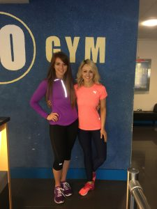 Siobhan and I at Go Gym