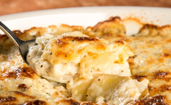 Healthy Potatoe Gratin