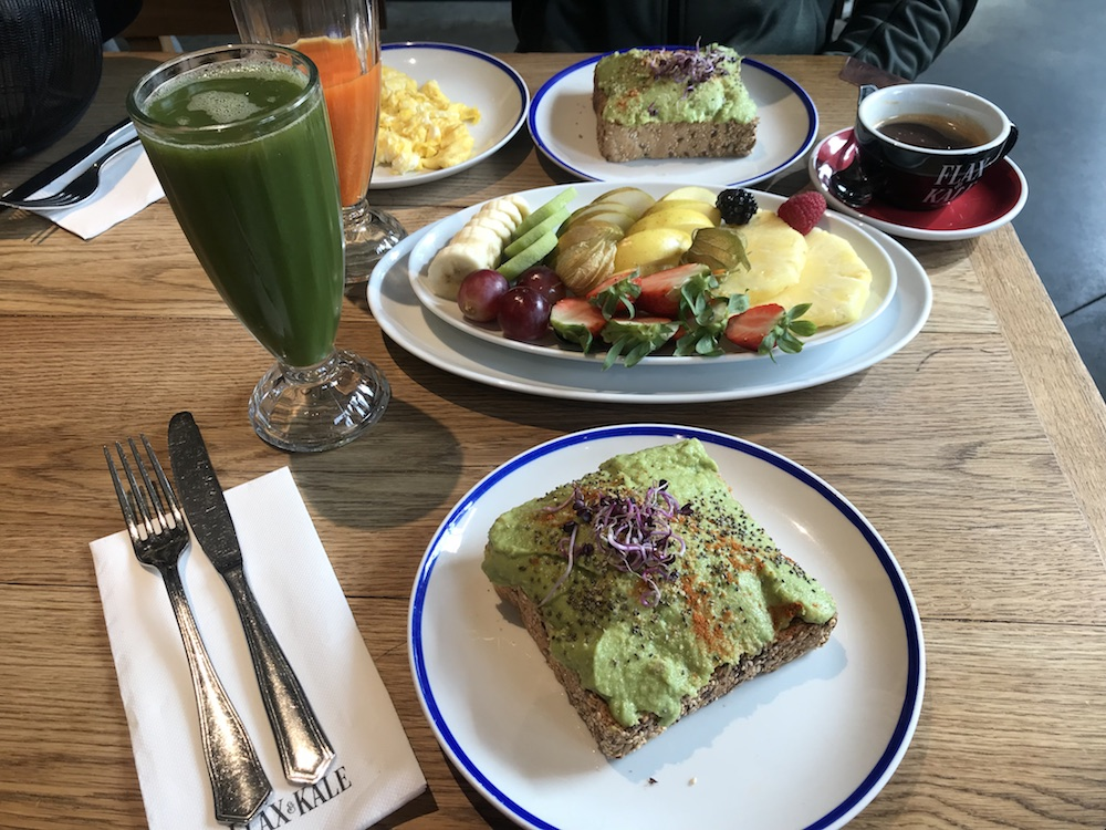Five healthy eating spots in Barcelona