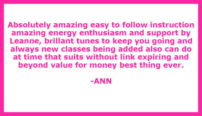 Testimonial ANN